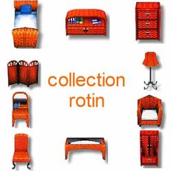 Collection rotin