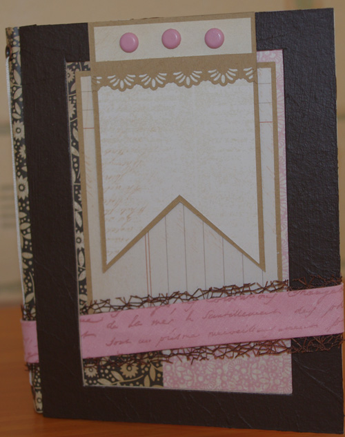 Album vintage la f e du scrap le scrap de marie - Idee scrapbooking album photo ...
