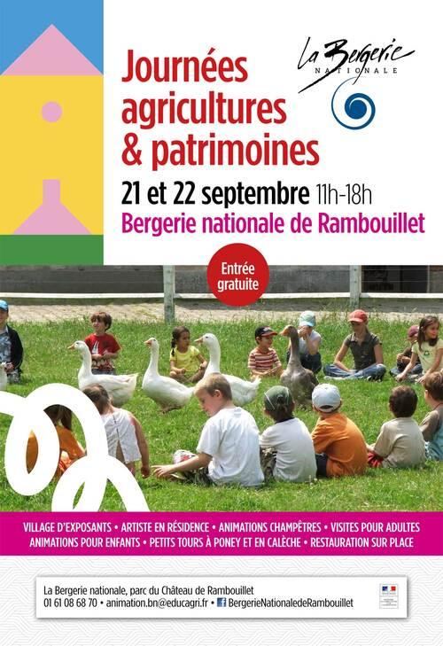 Journées agricultures & patrimoines à la Bergerie Nationale à Rambouillet