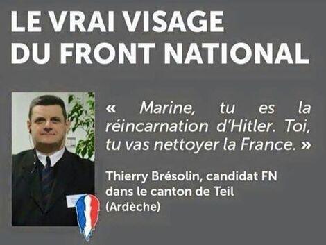 Photo de Le Fn, une Arnaque Pour Mous Du Bulbe.