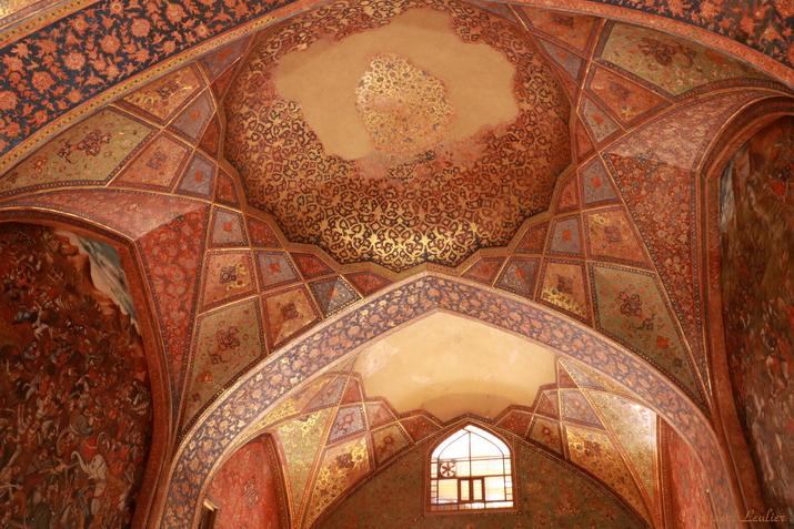 Le Palais des 40 colonnes Chehel Sotun, Ispahan