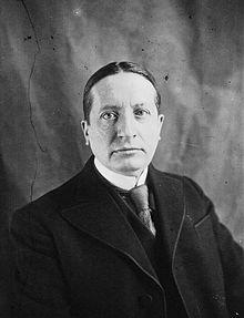 Georges Mandel, député de la Gironde, en 1932.