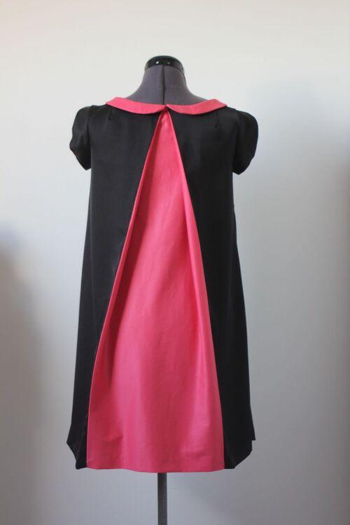 Robe trapèze bicolore