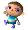 [Gifs] Humains animal crossing DS