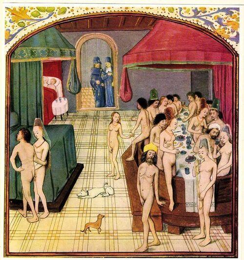Etuves et bains publics