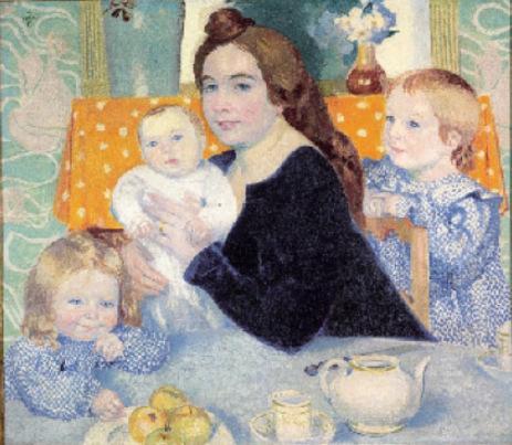 07 - Trois soeurs en peinture au 20 eme siècle