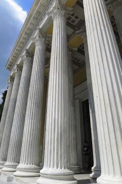 Athènes et ses bâtiments historique