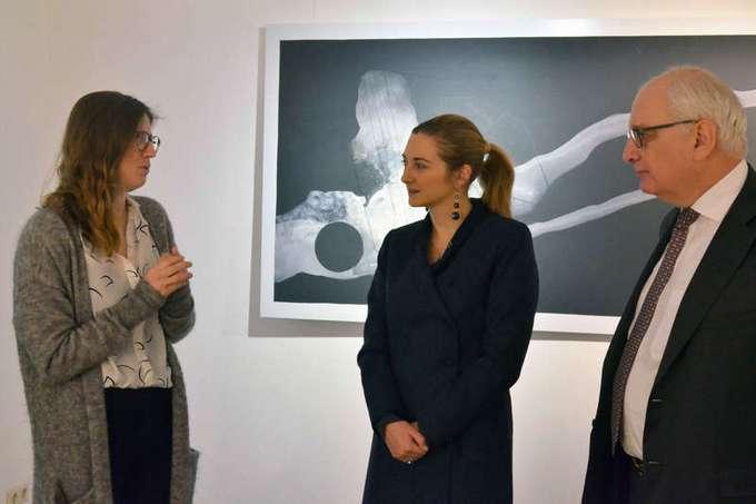 Visite de l'exposition « Peinture »
