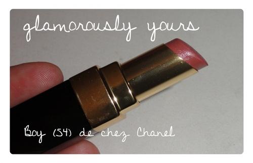 Défi du lundi relevé: lipstick folie!