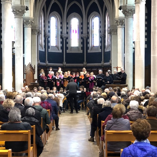 Chorale Accord - Concert d'hiver -Eglise la Chapelle sur Erdre le 27/01/2019