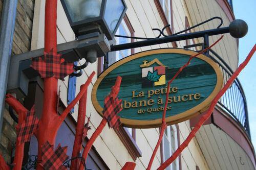 Quelques trucs marrants à Québec