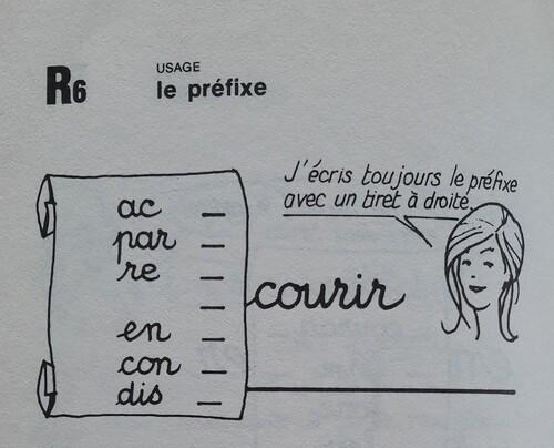 A  Les préfixes
