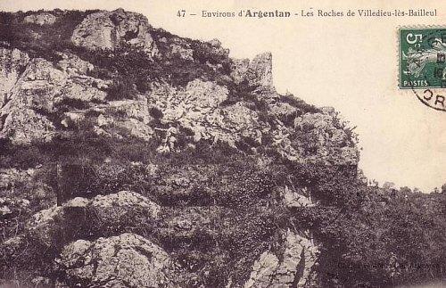 Rochers de Villedieu-lès-Bailleul
