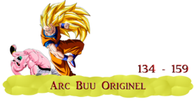 DRAGON BALL KAI - ARC BUU ORIGINEL