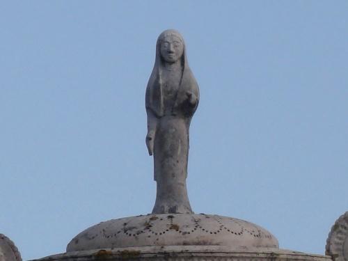 Des sculptures modernes dans la ville de Châtillon sur Seine...