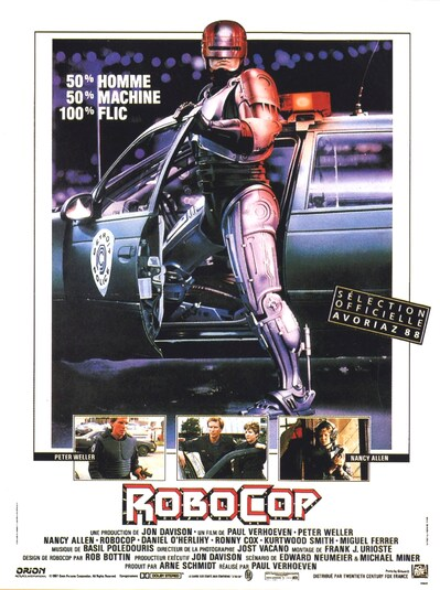 BOX OFFICE PARIS DU 20 JANVIER 1988 AU 26 JANVIER 1988 : ROBOCOP