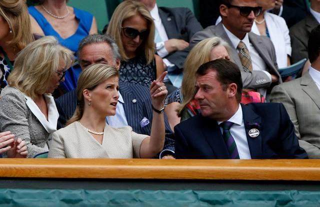 Sophie à Wimbledon