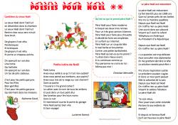 8 poésies de Noel pour le cycle 3