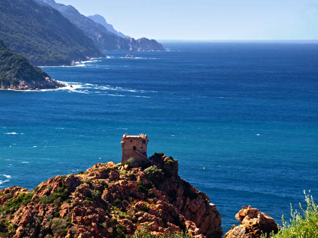 Golfe de Porto en Corse