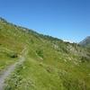 Sur le sentier du GR 10 dans la montagne de Pouey Arraby