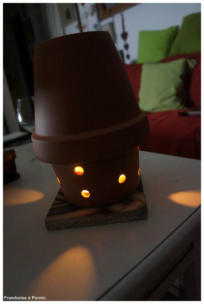 Lanterne chauffeuse