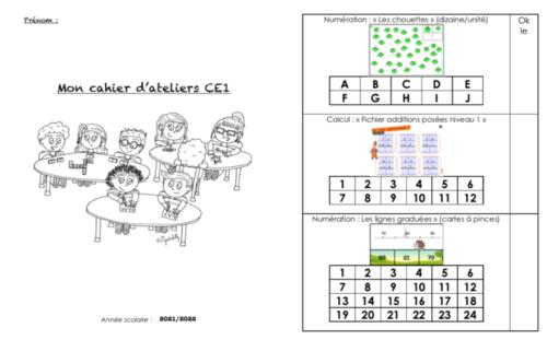 Livret ateliers CE1