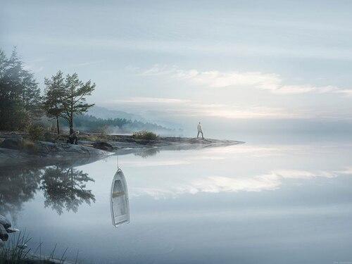 Les images surréalistes du photographe Erik Johansson
