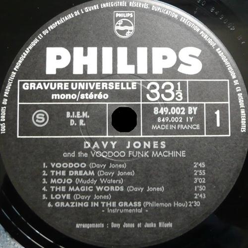 """1968 : Album """" Sookie Sookie """" Philips Records 849.002 BY [FR]"""
