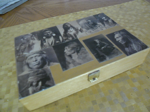 Relookage boîtes de cigare