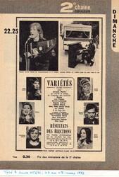 04 mars 1973 / ELECTIONS LEGISLATIVES