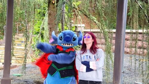 stitch à Disneyland Paris