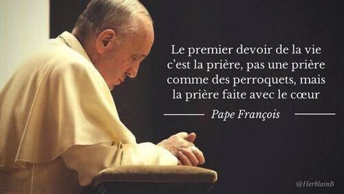 De la prière