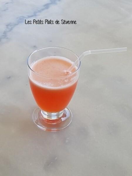 Citronnade fraises-citron au Tmix