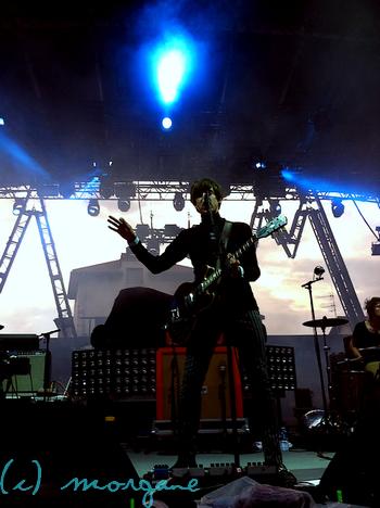 Concert de Miles Kane et des Arctic Monkeys - Vienne.