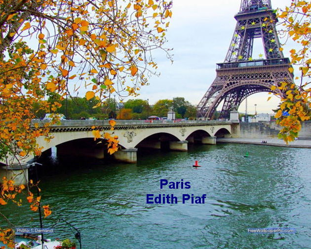 Paris    Edith Piaf