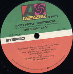 The Boone Bros. - (Party People) Throwdown