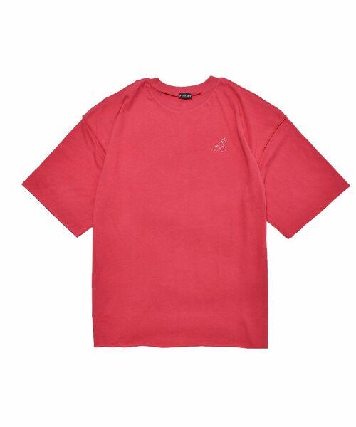 [PIMMY] - T-shirt Cerise - 4320¥