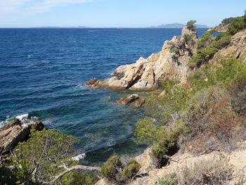 La pointe face aux îlots de l'Estagnol