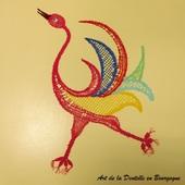 Réalisé par Marie L.Misse en carte Claudine Champagnac