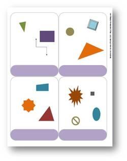 BataFormes - Jeu de cartes - Formes géométriques simples