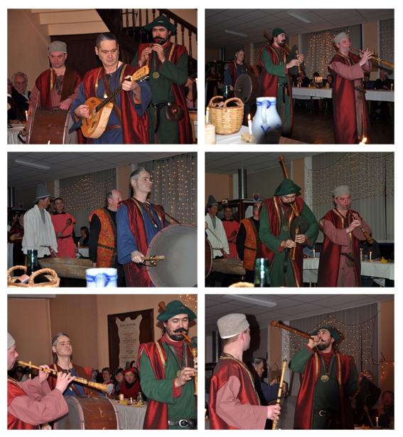 Curragh - Banquet médiéval