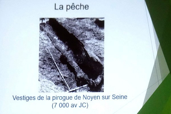 Une conférence de Pierre Pothérat sur la Seine, sous les auspices de châtillon-Scènes