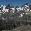 Du sommet du pico de Lavaza Oriental, Argualas Algas Garmo Negro Pondiellos Infiernos