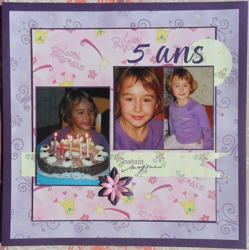 *** NP : 5 ans ***