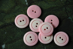 Boutons rose layette
