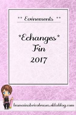 *Echange* Fin 2017