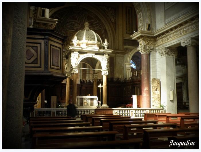 Italie: basilique St-Chrysogone