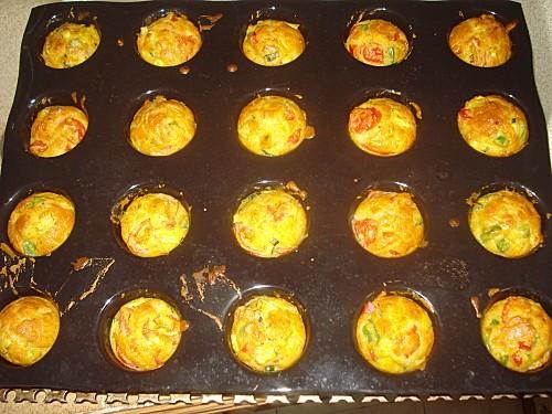 Mini Muffins aux Légumes d'été 7