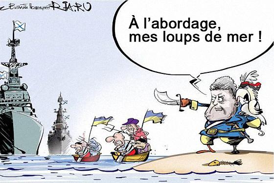 Porochenko et ses navires