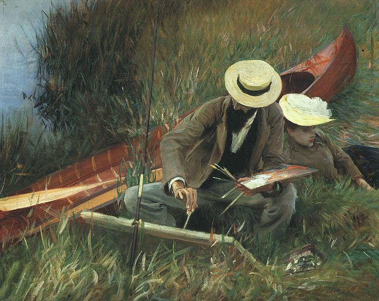 Fichier:Sargent - Paul Helleu Sketching with his Wife.jpg